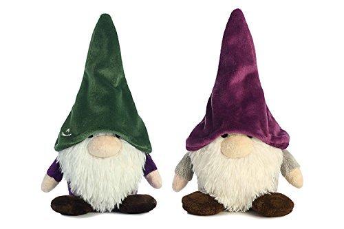 Aurora Bundle of 2 Gnome Stuffed Animals - Gnomlins Dordri & Twistdwadle ()