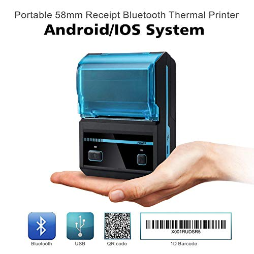 Mobile Receipt and LabelPrinter BLUETOOTH Android Windows NEW 3nStar 58mm 2″