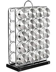 Amazon Basics Jar Spice Organizer Rack