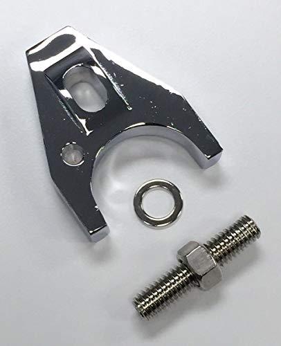 - Pirate Mfg Hot Rod Chrome Aluminum Distributor Hold Down Clamp SBC 350 BBC 454