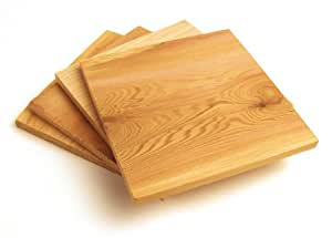 Steven Raichlen Best of Barbecue Individual Grilling Planks Set of 4