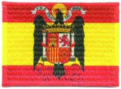 losparches Parche bordado y textil termoadhesivo BANDERA ESPAÑA ...