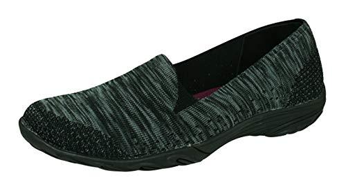 Skechers Empress Looking Good Womens Slip on Walking Shoes-Black-6 (Best Looking Walking Shoes For Women)
