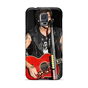 Scratch Protection Hard Cell-phone Cases For Samsung Galaxy S5 With Provide Private Custom Vivid Boys Like Girls Band Series MansourMurray