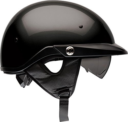 (Bell Pit Boss Open-Face Motorcycle Helmet (Solid Black, XXX-Large))
