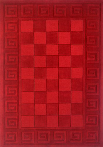 Momeni Rugs METROMT-03BUR3353 Metro Collection, 100% Wool Hand Loomed Contemporary Area Rug, 3'3