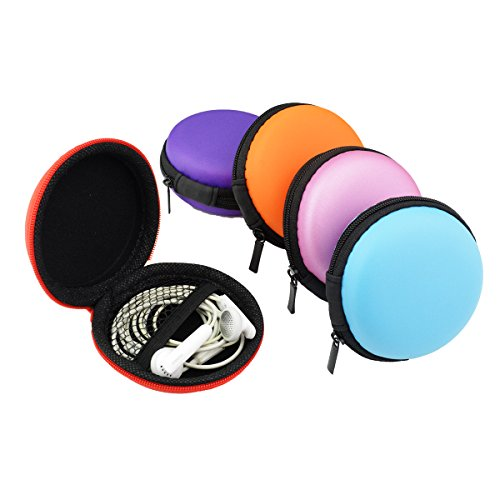5 pcs Earphone Carrying Case,