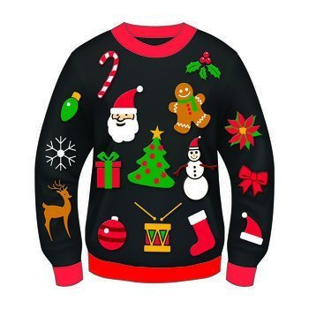 Everything Christmas Men's Sweater Large (42-44)