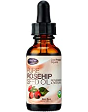 Life Flo Health - Pure Rosehip Seed Oil - Certified Organic & Cold Pressed - Authentic Rose Hip Oil for Face & Skin Restoration - Dry & Non-Greasy - 1 Oz (30ml)