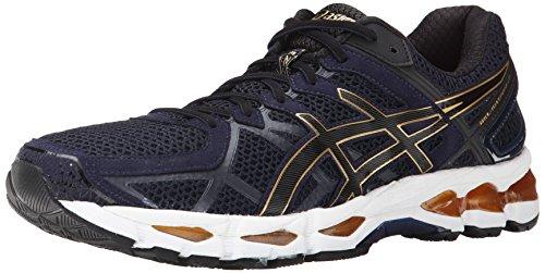 ASICS Men's Gel Kayano 21 Running Shoe, Indigo Blue/Black/Gold, 11 M US