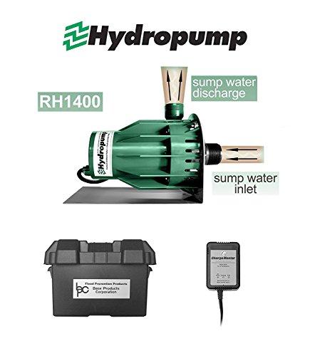 Hydropump RH1400 Battery Powered Backup Sump Pump
