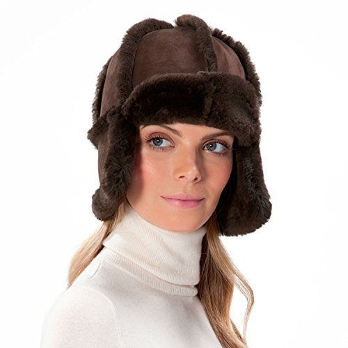 Eric Javits Luxury Fashion Designer Women's Headwear Hat - Mum Hat - Brown