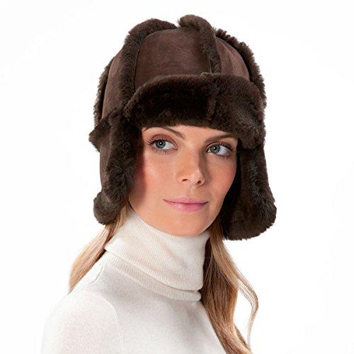 Eric Javits Luxury Fashion Designer Women's Headwear Hat - Mum Hat - Brown by Eric Javits