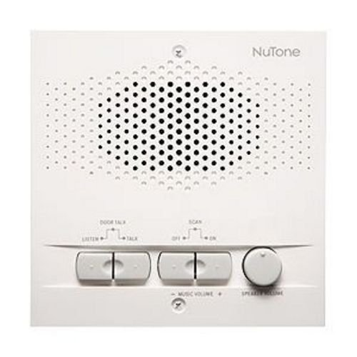 NuTone NRS104WH Indoor Remote Station for 4-Wire Intercom Systems ()