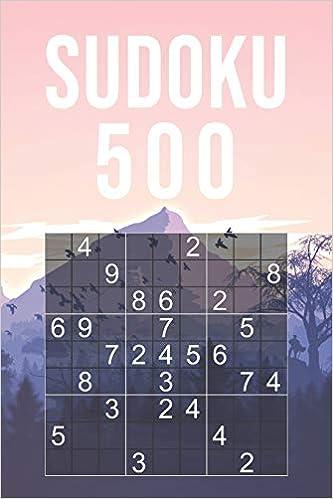 Sudoku Facile 500 Grilles 9x9 Jeu Classique Pour