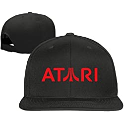 ATARI Logo baseball cap hip hop cap Black (5 colors)