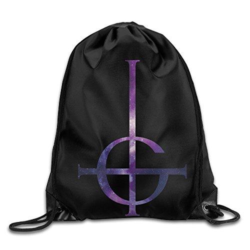 [Creative Design Ghost B.C Rock Band Drawstring Backpack Sport Bag For Men And Women] (Demonic Masks)