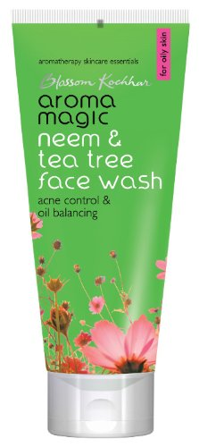 Aroma Magic Neem and Tea Tree Face Wash, (Aroma Tree)