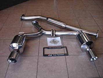 Top Speed Catback Scion Frs Pro 1 Dual Catback Exhaust System