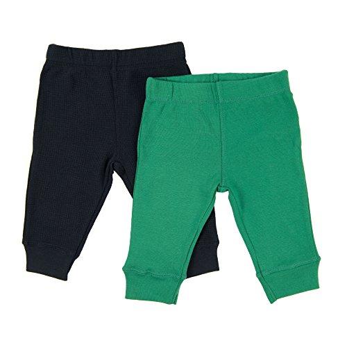 Leveret Baby Legging 2 Pack Navy & Green 18 Months ()