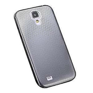 JJE Aluminum Thin Mesh Hard Steel Back Cover Case for Samsung Galaxy S4 I9500 , Purple