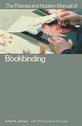 Manual of Bookbinding (The Thames & Hudson Manuals) by Johnson, Arthur W. (1978) Paperback