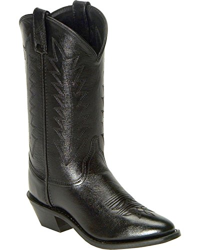 Old West Women's Corona Cowgirl Boot Medium Toe Black 9.5 M US (Old West Outfit)