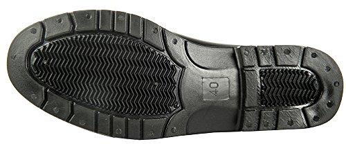 HKM Jodhpur botas de goma–Economic con elástico negro