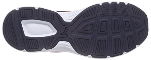 Puma Axis V4 Mesh - Zapatillas Unisex adulto Blau (peacoat-high risk red 04)