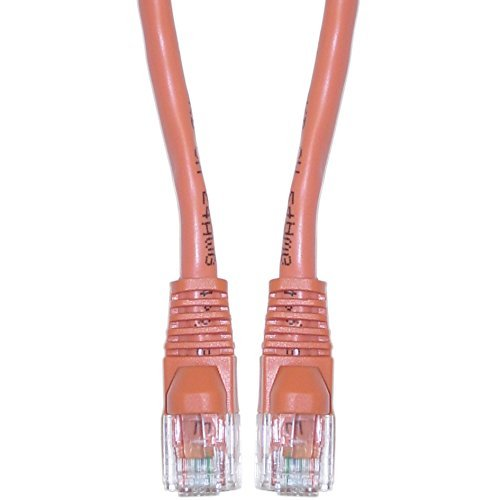 50' Universal Ceiling Mount (VoojoStore Cat6 Orange Ethernet Crossover Cable, Snagless/Molded Boot, 50 foot)