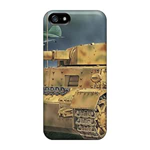 EjBldKb5986wCyEX Case Cover, Fashionable Iphone 5/5s Case - I 16 Medium Tank