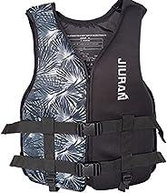 Life Jacket Vest for Adult Kids, Kayaking Fishing Life Jackets Flotation Waistcoat for Water Sports, Unisex fo