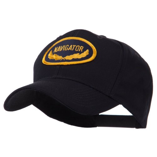 Oak Leaf Oval Shape Military Patch Cap - Navigator OSFM (Patch Cap Oval)