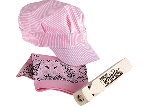First Note Train Whistle and Hat Set Pink