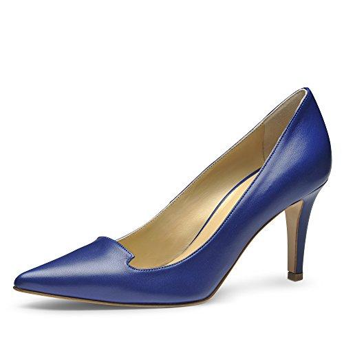 Jessica Mujer Pumps piel lisa Azul