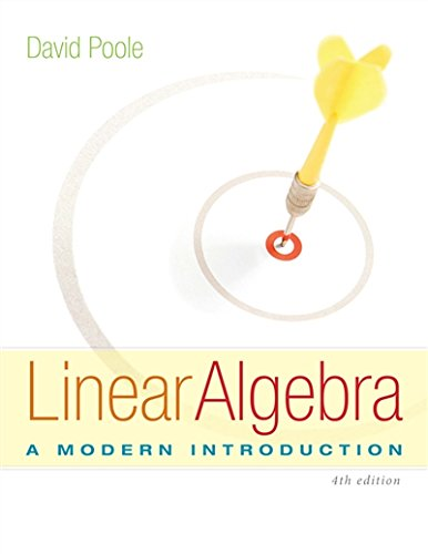 1285463242 - Linear Algebra: A Modern Introduction