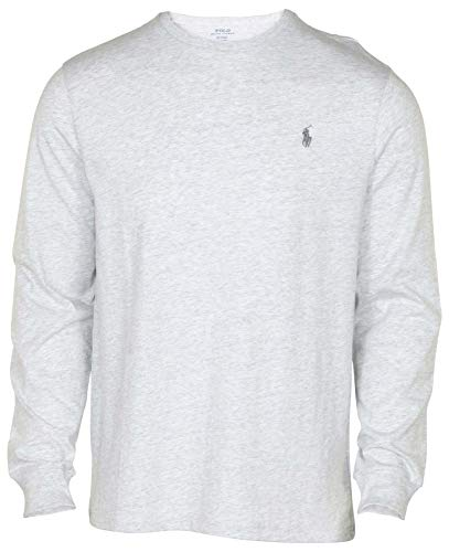 Polo Ralph Lauren Mens Long Sleeve Crewneck Logo T-Shirt - XXL - Lawrence - Xxl Lauren Tshirts Ralph