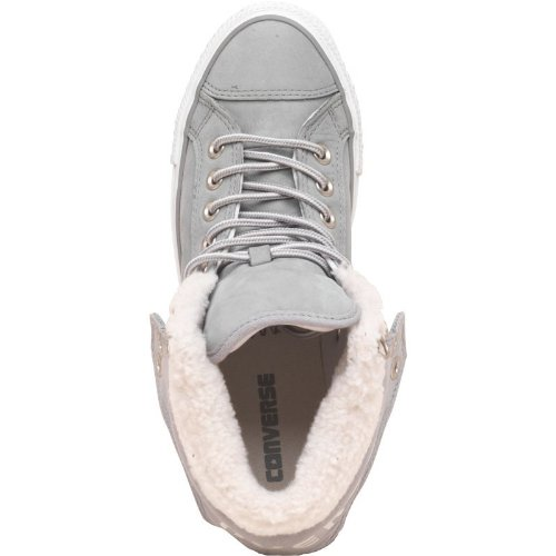 f6391e828660 Converse Womens CT All Star Padded Collar 2 Mid Fur Grey Girls Ladies (3 UK  3 Euro 35 US 5)  Amazon.co.uk  Shoes   Bags