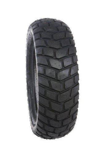 Duro HF903 Dual Sport Scooter Tire - Front/Rear - 130/90-10 , Position: Front/Rear, Tire Size: 130/90-10, Rim Size: 10, Tire Ply: 4, Load Rating: 61, Speed Rating: J, Tire Type: Scooter/Moped 25-90310-130