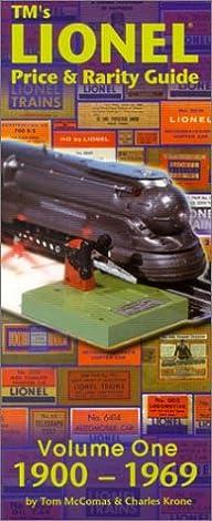 tm s lionel price rarity guide volume 1 1900 1969 tom mccomas rh amazon com Pokemon Rarity Symbols Rarity Happy
