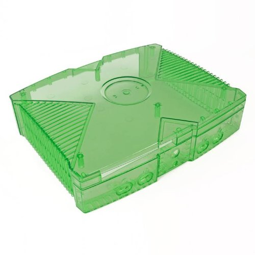 Clear Case Ghost - Xbox Original GhostCase Kit - Clear Green