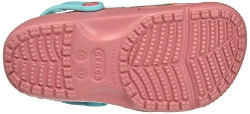 Crocs 204619, Zuecos para Niñas Rosa (Blossom)