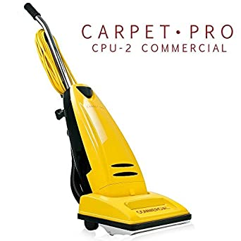 Carpet Pro Commercial CPU 2 Upright Vacuum Cleaner: Household Upright Vacuums: Amazon.com: Industrial & Scientific