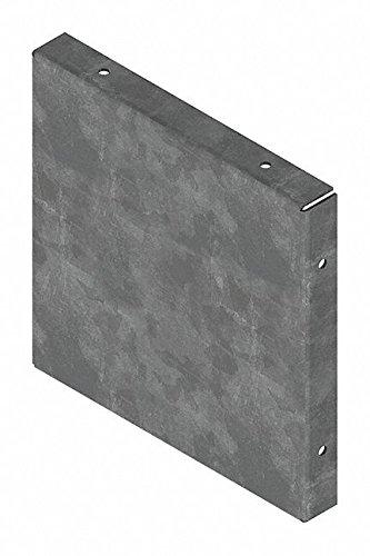 Steel Wireway Closure Plate for Hoffman F66 Series Wireways