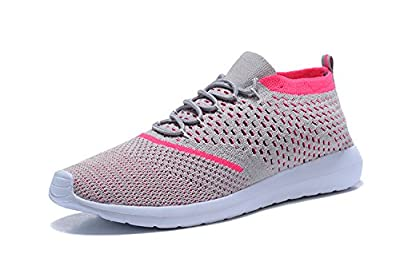 Kenswalk Women's Aqua Water Shoes Lightweight Slip On Walking Shoes