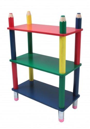 Kindermöbel regal  Kinderregal, Möbel für's Kinderzimmer, Kindermöbel, Kiefernholz ...