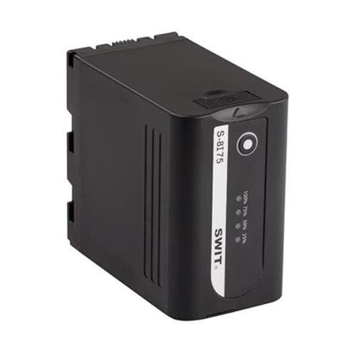 Swit Electronics S-8I75 60Wh 8.3Ah Li-Ion Battery with 7.2V Pole DC Output & USB Charging Port for JVC HM600/650, LS300 and HMQ10 Camera by Swit Electronics