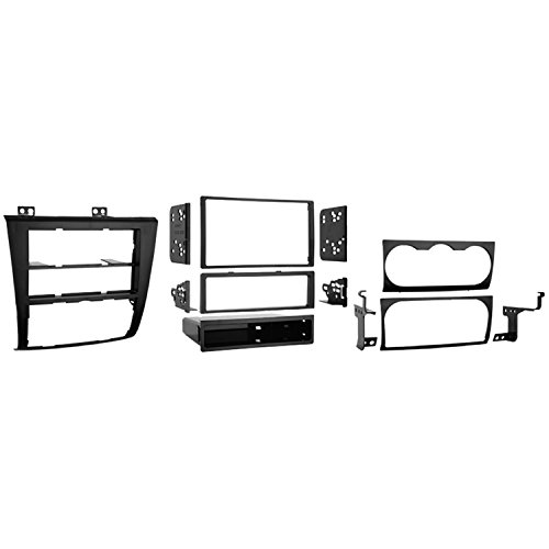 2009 Nissan Altima Dash - Metra 99-7423 Single DIN/Double DIN Installation Kit for 2007 Nissan Altima (Black)
