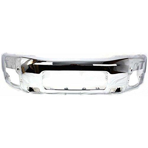 (Bumper for Nissan Titan 04-14 / Armada 05-07 Front Bumper Chrome)