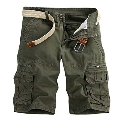 Pantaloni Pure Corti Jogging Armeegrün Ragazzi Ufige Classiche Borse Colour Spiaggia Pantaloncini Sportivi Da Bermuda Uomo Lavoro wXdRwzq